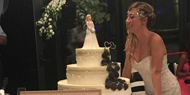 Für 10.000 Euro: Italienerin feiert Single-Hochzeit