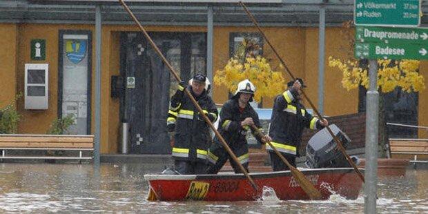 Jetzt kommt das Sintflut-Wochenende