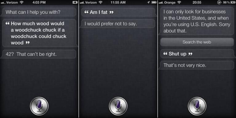 "iPhone 4S: ""Siri"" will nicht heiraten"
