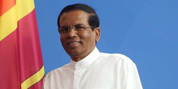Sri Lankas Präsident bei Heinz Fischer