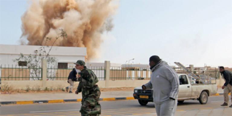 Rebellen erobern Gaddafis Geburtsstadt