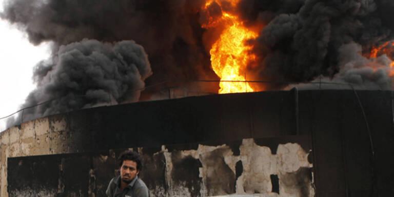 Libyen: 100 Tote bei Explosion in Sirte