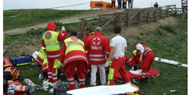 Massive Kritik nach Motocross-Crash