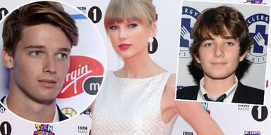 Taylor Swift, Conor Kennedy, Patrick Schwarzenegger