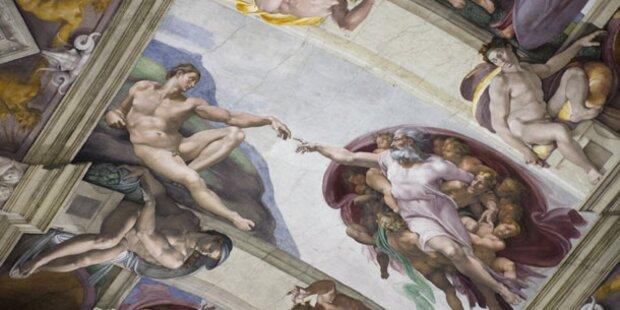 Schweiß gefährdet Sixtinische Kapelle