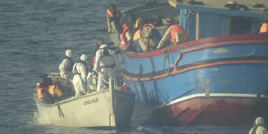 Flüchtlinge Sizilien