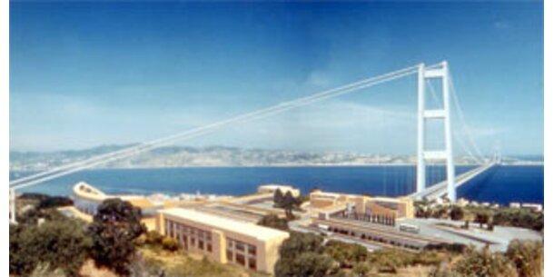 Berlusconi baut Mega-Brücke nach Sizilien
