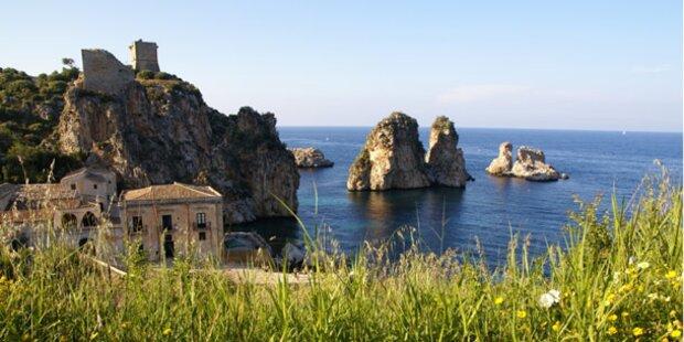 Ostereiersuche auf Sizilien