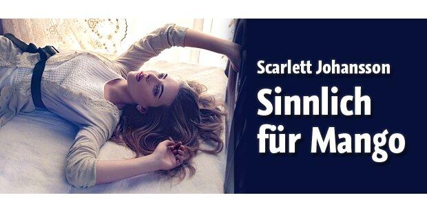 Sinnliche Schönheit: Scarlett für Mango