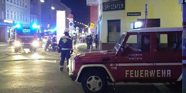 Lokal in Flammen: Brand in Ottakring