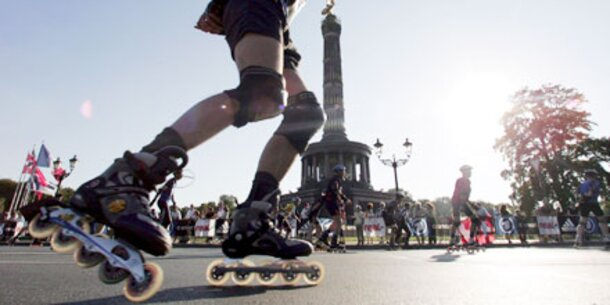 Fit und schlank mit Inline-Skaten