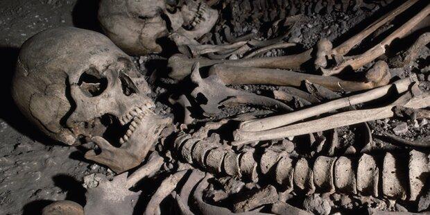 Weibliches Skelett in Bad Ischl gefunden