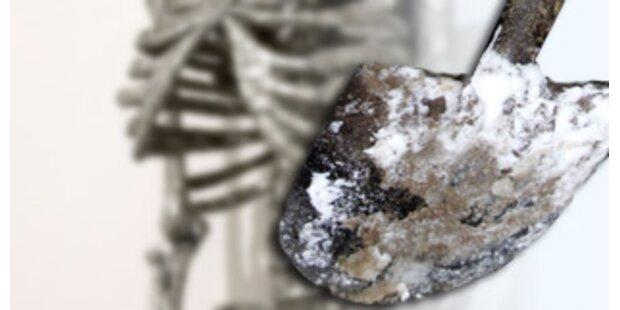 Menschliches Skelett in der Steiermark gefunden