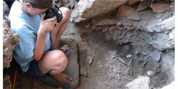 12.000 Jahre altes Skelett gefunden