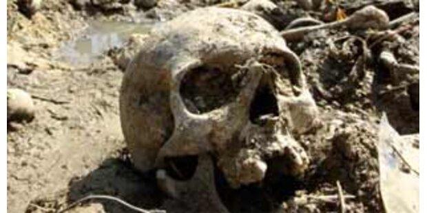 Steirer fand Sack mit zwei Totenköpfen