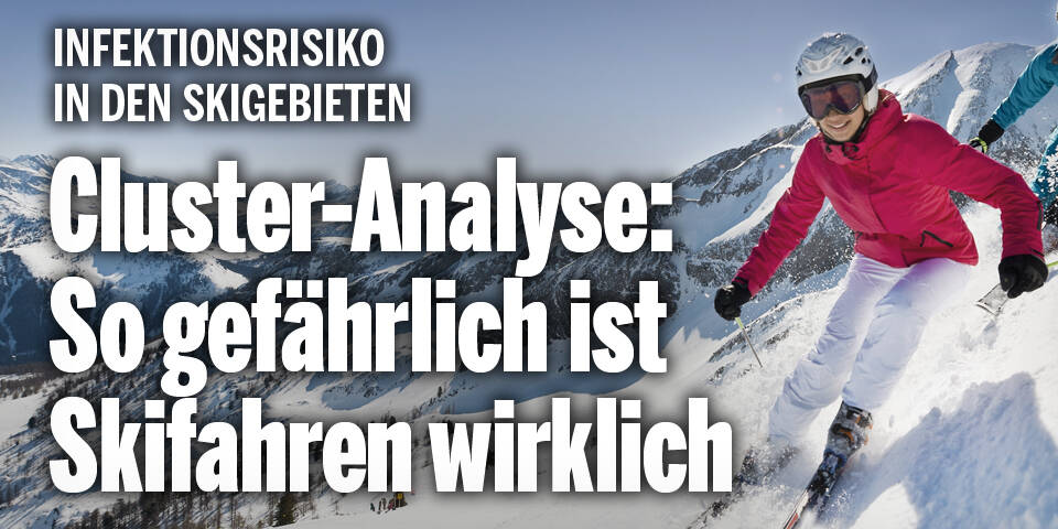 Cluster-Analyse: So gefährlich ist Skifahren wirklich