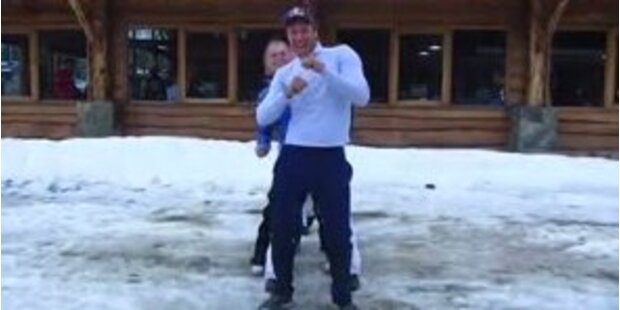 Das verrückteste Video des Skizirkus