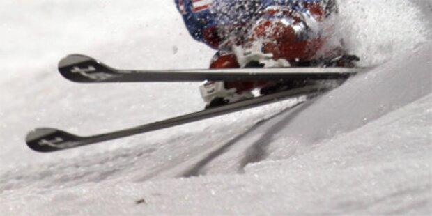 Deutscher Skifahrer 30 Meter abgestürzt