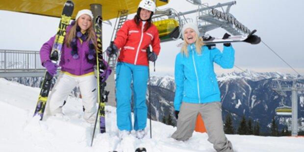 Ski-Saison hat jetzt begonnen