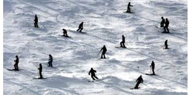 Nächtigungsminus für Wintertourismus