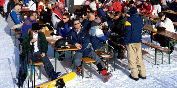 Ansturm auf Top-Skigebiete
