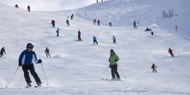Skifahren am Wochenende