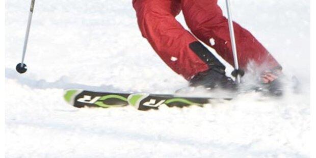 Skifahrerin prallt gegen Betonmauer