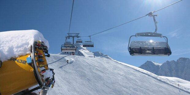 So viel Schnee gibt's zum Ski-Opening