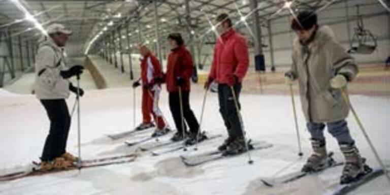 Salzburger Skihallen in Moskau und London