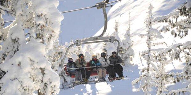 9 Personen aus Skilift abgeseilt