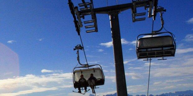 Drama am Skilift: 90 Skitouristen gerettet
