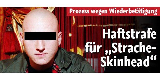 """Haftstrafe für """"Strache-Skin"""