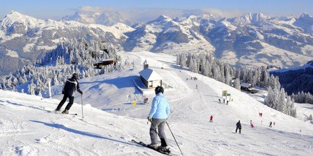 Die Schneehöhen in den Skigebieten