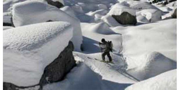 Vermisster Salzburger nach Skitour lebend gefunden