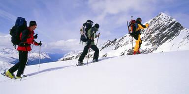 Gletscher-Skihochtour