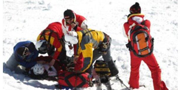 Wieder schwere Skiunfälle auf Österreichs Pisten