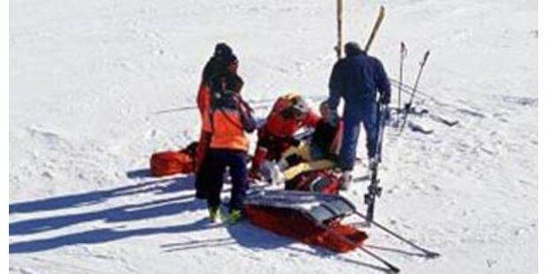Bub bei Skiunfall schwer verletzt