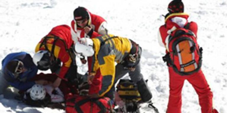 Arzt stirbt bei Skiunfall in Leogang