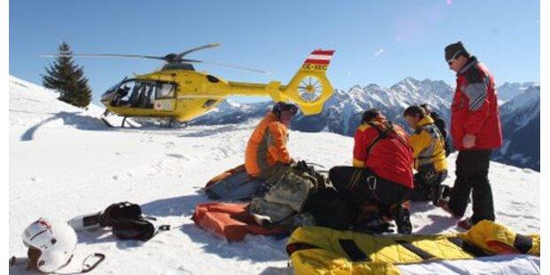 54-Jähriger stirbt bei Schneeschuhwanderung