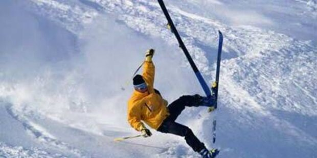 Zahlreiche Verletzte nach Skiunfällen