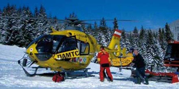 Bub (7) bei Skiunfall schwer verletzt