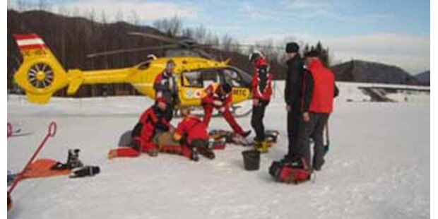 2 Skifahrer in Kärnten schwer verletzt
