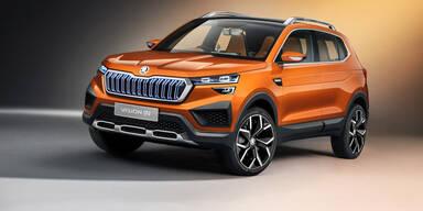 Skoda zeigt Kompakt-SUV für Indien