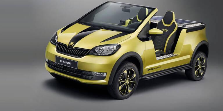 Skoda Citigo wird zum coolen Elektro-Buggy