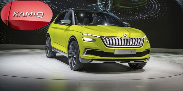 Skodas neues Mini-SUV heißt Kamiq
