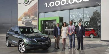 Skoda hat millionstes SUV gebaut