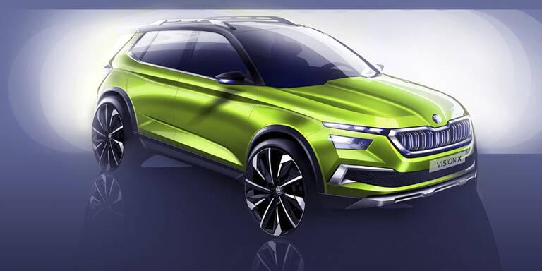 Skoda greift mit neuem Mini-SUV an