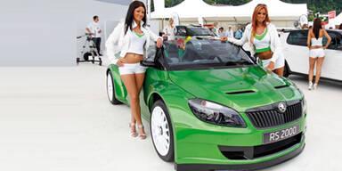 Skoda Fabia RS 2000 beim GTI-Treffen 2011