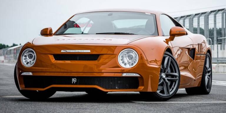 Cool: Skoda auf Audi R8 Plattform