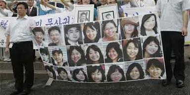Demonstration für die Freilassung der südkoreanischen Geisel